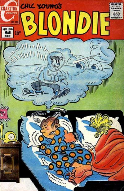 Cover for Blondie (Charlton, 1969 series) #184
