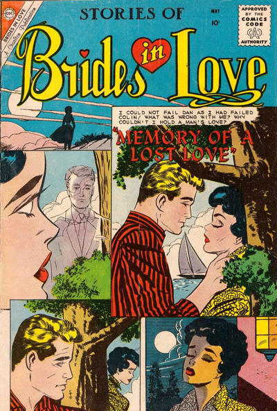 Cover for Brides in Love (Charlton, 1956 series) #18