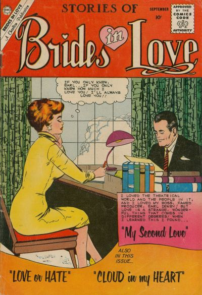 Cover for Brides in Love (Charlton, 1956 series) #20