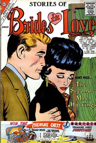 Cover for Brides in Love (Charlton, 1956 series) #22