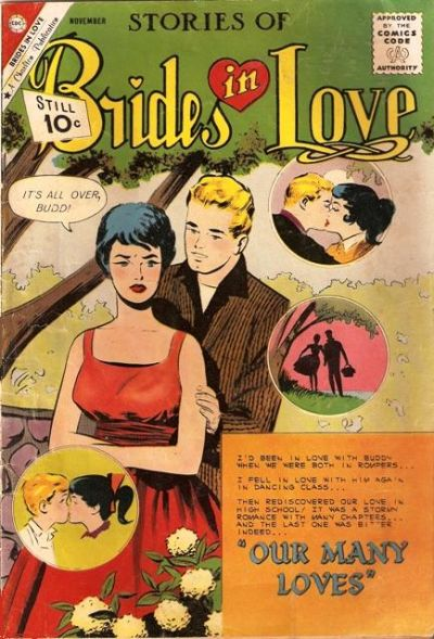 Cover for Brides in Love (Charlton, 1956 series) #27