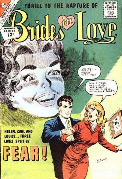 Cover for Brides in Love (Charlton, 1956 series) #33