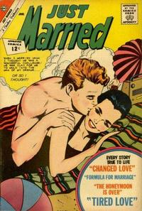 Cover Thumbnail for Just Married (Charlton, 1958 series) #25