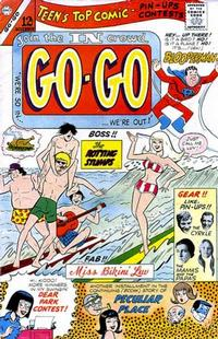 Cover for Go-Go (1966 series) #4