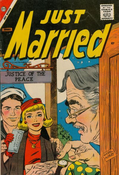 Cover for Just Married (Charlton, 1958 series) #4