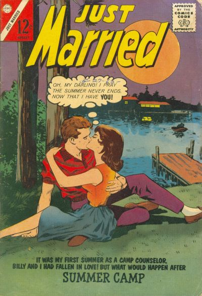 Cover for Just Married (Charlton, 1958 series) #32