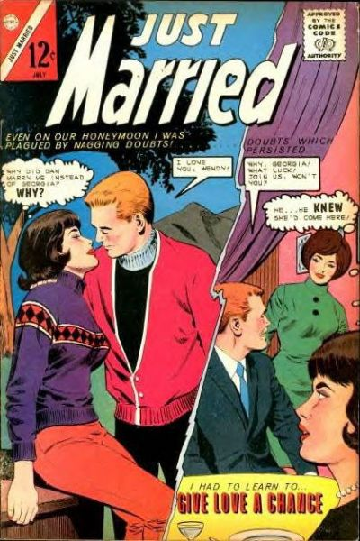 Cover for Just Married (Charlton, 1958 series) #37