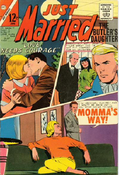 Cover for Just Married (Charlton, 1958 series) #47