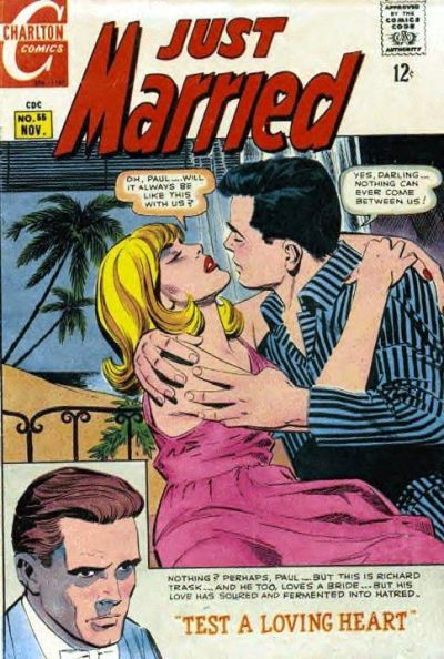 Cover for Just Married (1958 series) #55