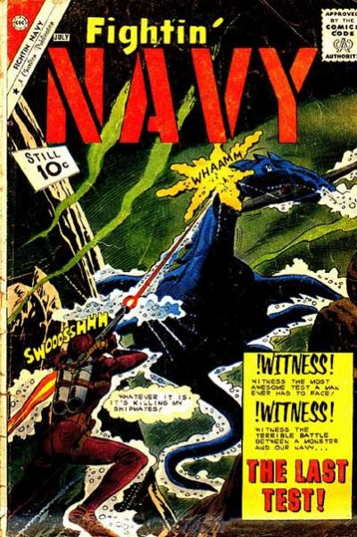 Cover for Fightin' Navy (Charlton, 1956 series) #99