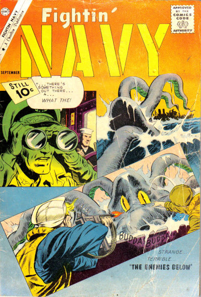 Cover for Fightin' Navy (Charlton, 1956 series) #100