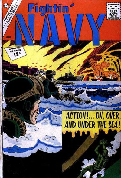 Cover for Fightin' Navy (Charlton, 1956 series) #104