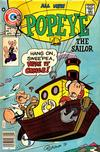 Cover for Popeye (Charlton, 1969 series) #134