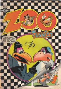 Cover Thumbnail for Zoo Funnies (Charlton, 1953 series) #1