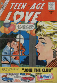 Cover Thumbnail for Teen-Age Love (Charlton, 1958 series) #17