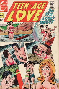 Cover Thumbnail for Teen-Age Love (Charlton, 1958 series) #69