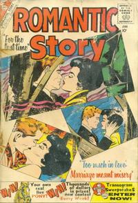 Cover Thumbnail for Romantic Story (Charlton, 1954 series) #49