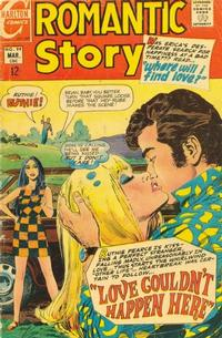 Cover Thumbnail for Romantic Story (Charlton, 1954 series) #99