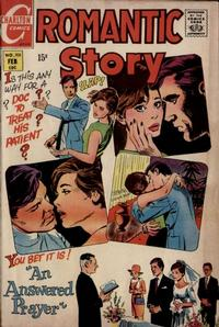 Cover Thumbnail for Romantic Story (Charlton, 1954 series) #105