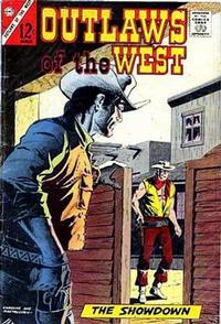 Cover Thumbnail for Outlaws of the West (Charlton, 1957 series) #63