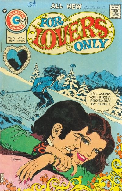 Cover for For Lovers Only (Charlton, 1971 series) #79