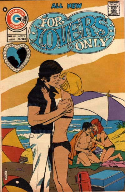Cover for For Lovers Only (Charlton, 1971 series) #80