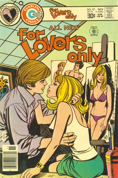 Cover for For Lovers Only (Charlton, 1971 series) #87
