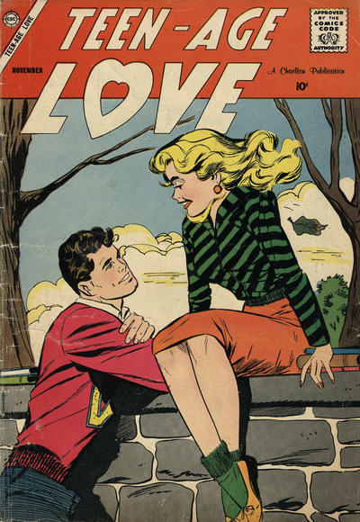 Cover for Teen-Age Love (Charlton, 1958 series) #6