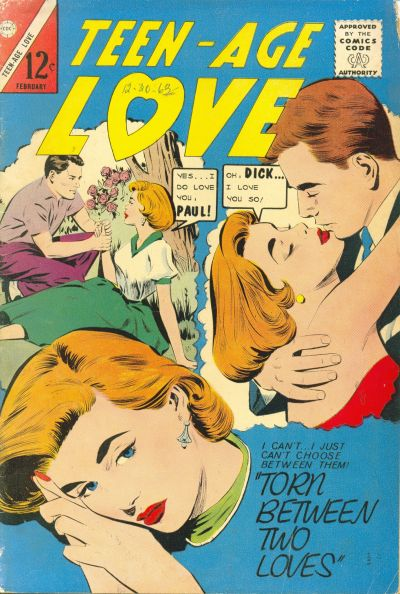 Cover for Teen-Age Love (Charlton, 1958 series) #36