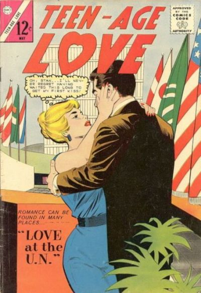 Cover for Teen-Age Love (Charlton, 1958 series) #37