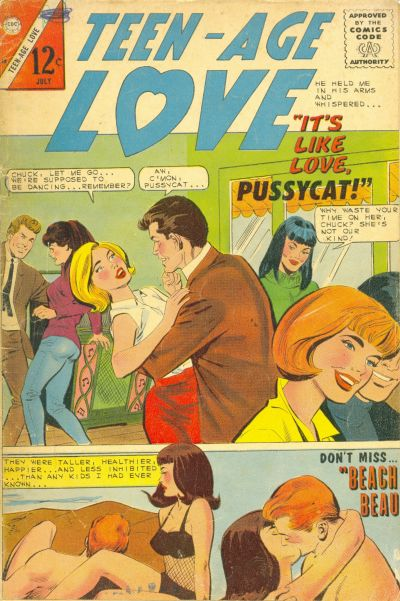 Cover for Teen-Age Love (Charlton, 1958 series) #48