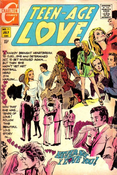 Cover for Teen-Age Love (Charlton, 1958 series) #71