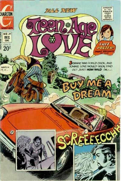Cover for Teen-Age Love (Charlton, 1958 series) #89