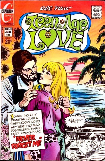 Cover for Teen-Age Love (Charlton, 1958 series) #93