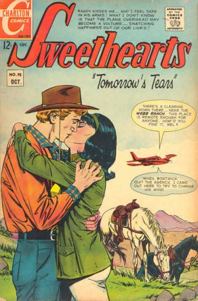 Cover for Sweethearts (Charlton, 1954 series) #95