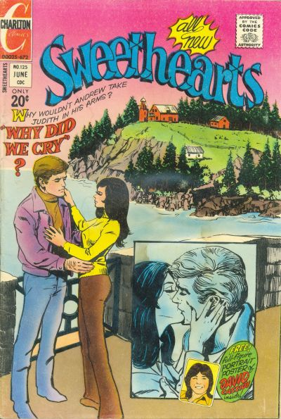 Cover for Sweethearts (Charlton, 1954 series) #125