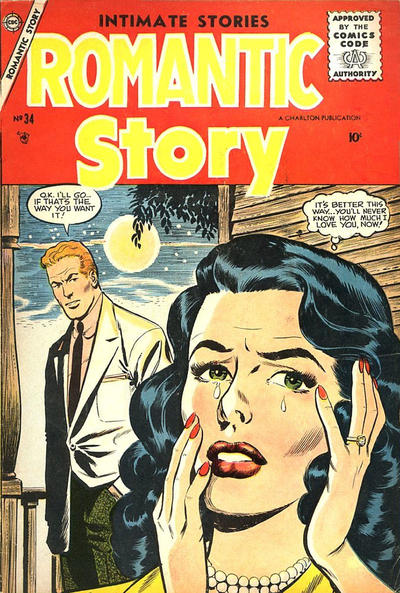 Cover for Romantic Story (Charlton, 1954 series) #34