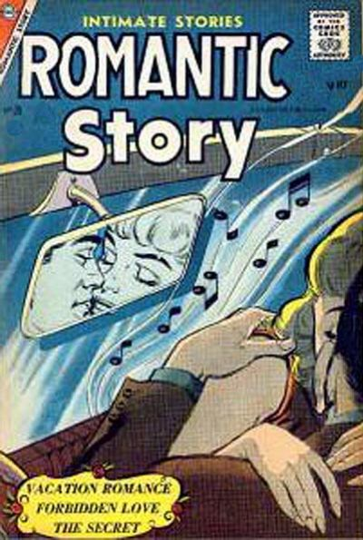 Cover for Romantic Story (Charlton, 1954 series) #35