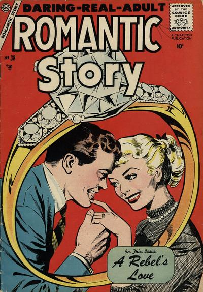 Cover for Romantic Story (Charlton, 1954 series) #38