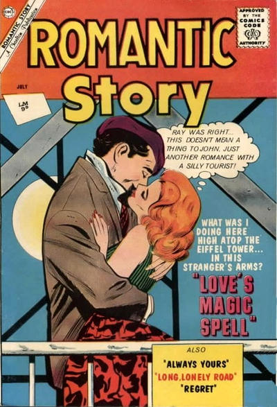 Cover for Romantic Story (Charlton, 1954 series) #61 [UK edition]