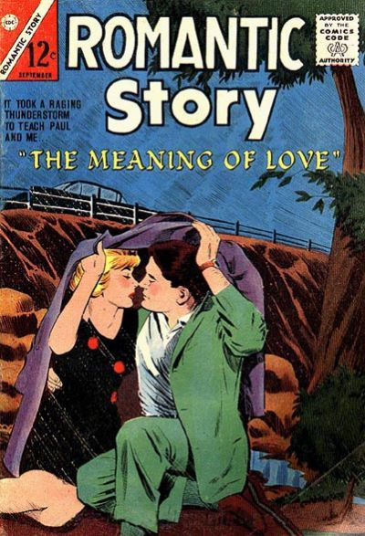 Cover for Romantic Story (Charlton, 1954 series) #73