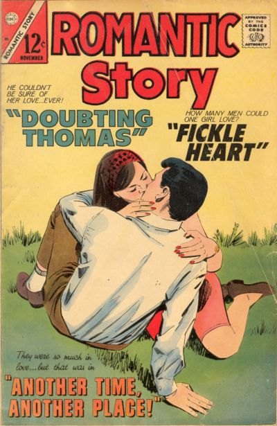 Cover for Romantic Story (Charlton, 1954 series) #85