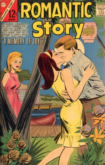 Cover for Romantic Story (1954 series) #86