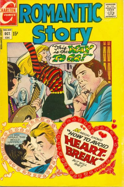 Cover for Romantic Story (1954 series) #109