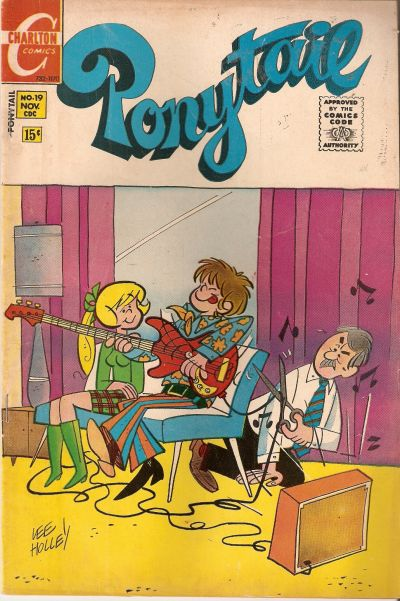 Cover for Ponytail (Charlton, 1969 series) #19