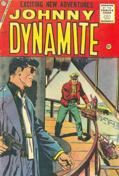 Cover for Johnny Dynamite (Charlton, 1955 series) #12
