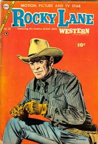 Cover Thumbnail for Rocky Lane Western (Charlton, 1954 series) #58