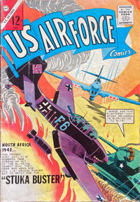 Cover Thumbnail for U.S. Air Force Comics (Charlton, 1958 series) #33