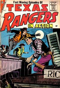 Cover Thumbnail for Texas Rangers in Action (Charlton, 1956 series) #7