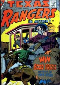 Cover Thumbnail for Texas Rangers in Action (Charlton, 1956 series) #15